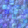 Blue Mosaic — Stock Photo #10257623
