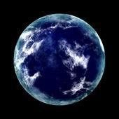 Planeta azul — Foto de Stock