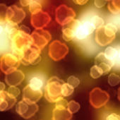 Decorative abstract background from fire — Stock Photo