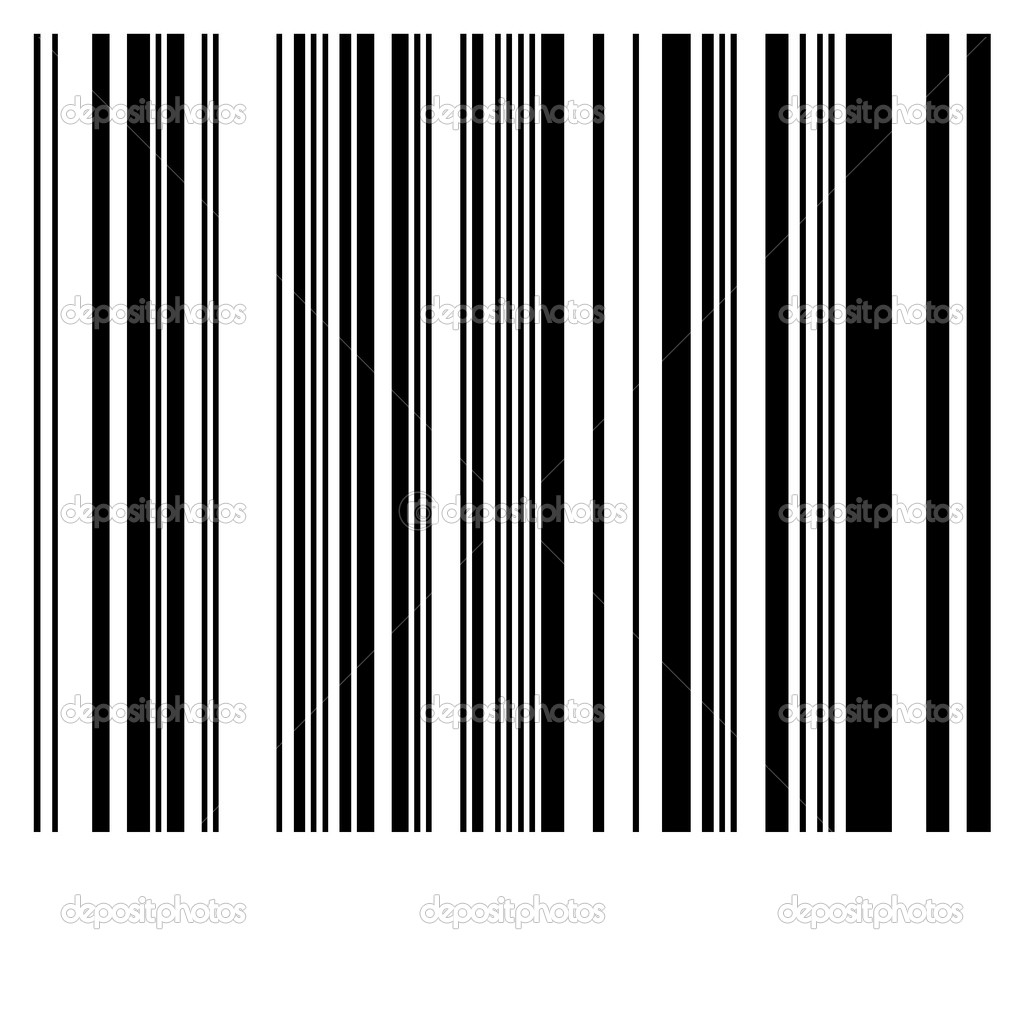Bar code imitation — Stock Photo #10261928
