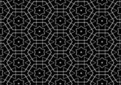 Czarny biały wzór — Zdjęcie stockowe