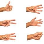 Popular gesture — Stock Photo