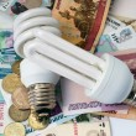 Electric power saving lamp — Stock Photo #9926536