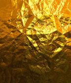 Gold foil — Stock Photo