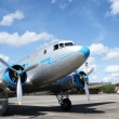 Stock Photo: Historical airplane Lisunov LI-2