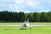 Small sports airplane — Stock Photo