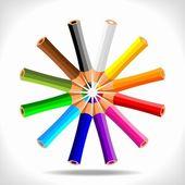 Crayons — Stock Vector