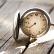 Stockfoto: Antique pocket watch.