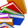 3D column of books — Stock Photo #10009536