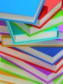 Column of books — Stock Photo