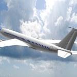 Jet airplane — Stock Photo #10010631