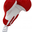 Boxing glove coming out — Stock Photo #10011326