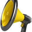 Megaphone blog announce. — Stock Photo