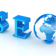 3d seo — Stock Photo