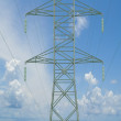 Electricity tower. — Stockfoto
