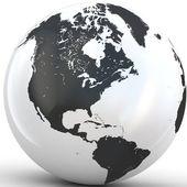 3D Globe. — Stock Photo
