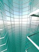 Abstract 3d building. — Stock Photo
