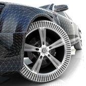 3D car design — Stock Photo
