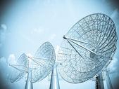 Uydu anteni — Stok fotoğraf
