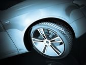 Sport Car Wheel — Stock fotografie