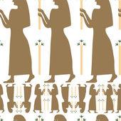 Egipt women vektor — Stock Photo