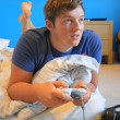 Young adult Gamer — Stock Photo #9932854
