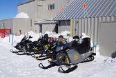Ski-doos — Stock Photo