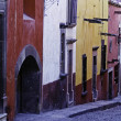 Stock Photo: Cobblestone streets, SMiguel de Allende, Mexico
