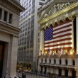 US Stock Exchange in New York City — Stock Photo