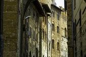 Streets of San Gimignano, Italy — Stock Photo