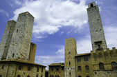 Towers of San Gimignano, Italy — Stock Photo