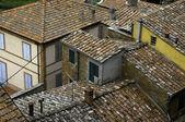Rooftops, Italian village — Stock Photo