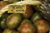 Tomatoes, Italian market — Stock Photo