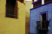 Mexican windows — Stock fotografie