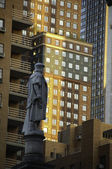 Statue of Columbus in New York — Stock Photo