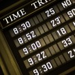 Royalty-Free Stock Photo: Train timetable