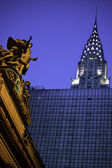 Grand Central Station, Chrysler Building — Stock Photo