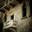 Juliet's balcony, Verona, Italy - Stock Photo