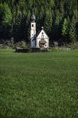 Church in the Italian Alps — Stock Photo