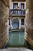 運河、ベニス イタリア — ストック写真