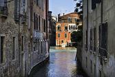 Canal, venecia italia — Foto de Stock
