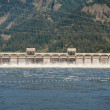 Bonneville Dam, Columbia Gorge — Stock Photo