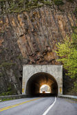 Highway tunnel — Stock Photo