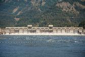 Bonneville Dam, Columbia Gorge — Stock Photo