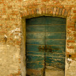 Old doorway - Stock Photo