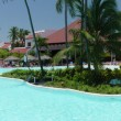 Dominican Holiday Panorama Resort Style — Stock Photo
