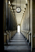 Keeping Time in Karlovy Vary, Czech Republic — Stock Photo