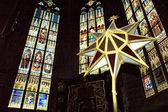 Inside St. Vitus Church — Stock Photo