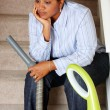 Woman Cleaning House — Stock Photo #10001941