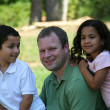Father and Children - Stock Photo